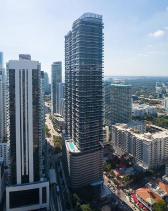 Miami: Margraf, Santo Passaia and Barausse for the Brickell Flatiron skyscraper project