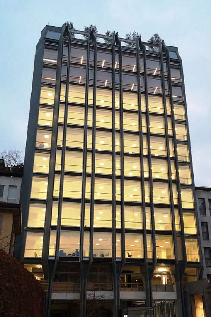 Garbelotto | Clip Up System ®, Innovation and Technology for Liberty Tower in Milano