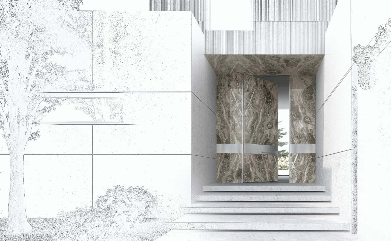 "Oikos | ""The Natural Stone"" Entrance interpretations"