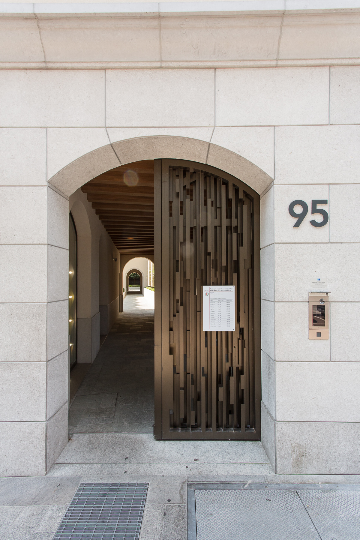 Margraf | Marble adds a spellbinding touch to historic residential buildings in Milan