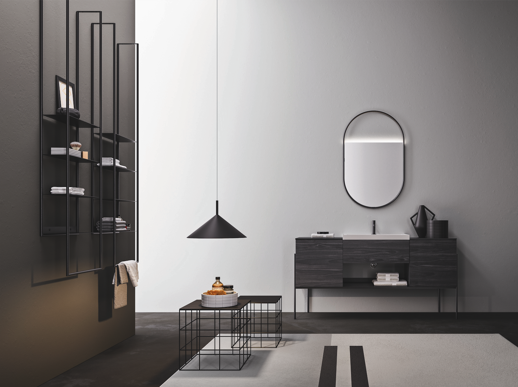 Ardeco | Metal for the bathroom: Industrial proposal